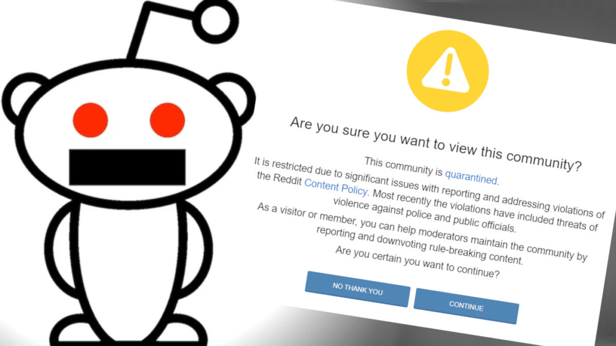 REDDIT QUARANTINES THE_DONALD! If This Doesn't Wake You Up to Anti